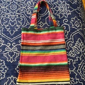 Other - Small Serape Tote Bag